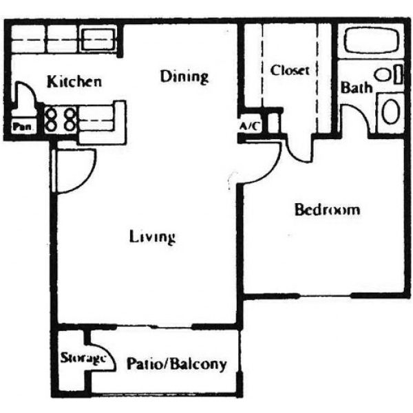 Floor Plan Parc Bay A