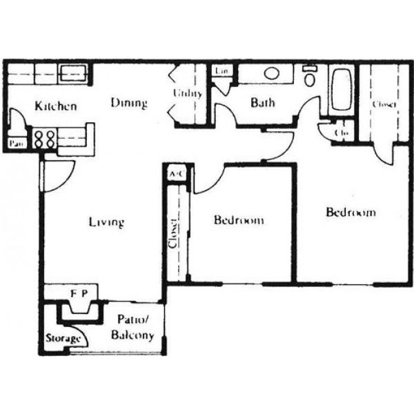 Floor Plan Parc Bay D