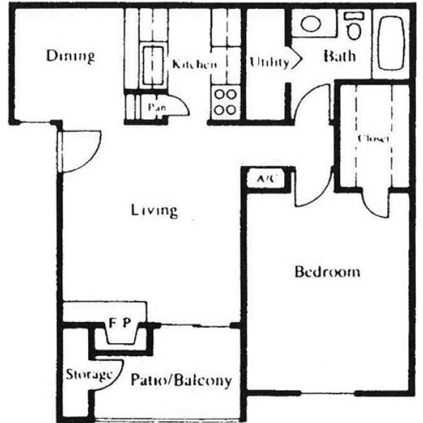 Floor Plan Parc Bay C