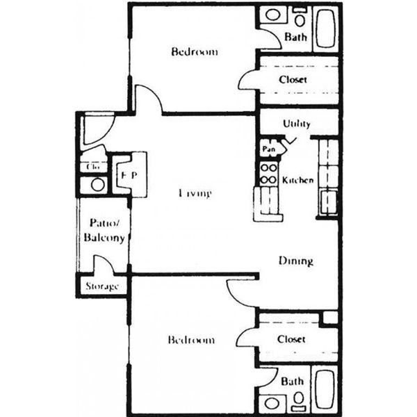Floor Plan Parc Bay E
