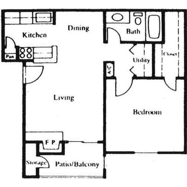 Floor Plan Parc Bay B